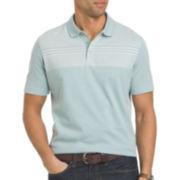 Van Heusen® Short-Sleeve Fancy Stripe Polo