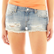 MNG by Mango® Destructed Shorts