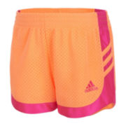 adidas® Sport Pull-On Shorts - Preschool Girls 4-6x