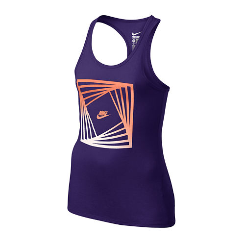 Nike® Block Racerback Tank Top - Girls 7-16