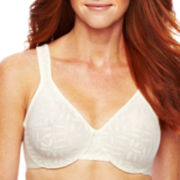 Olga® Sheer Leaves Minimizer Bra - 35519