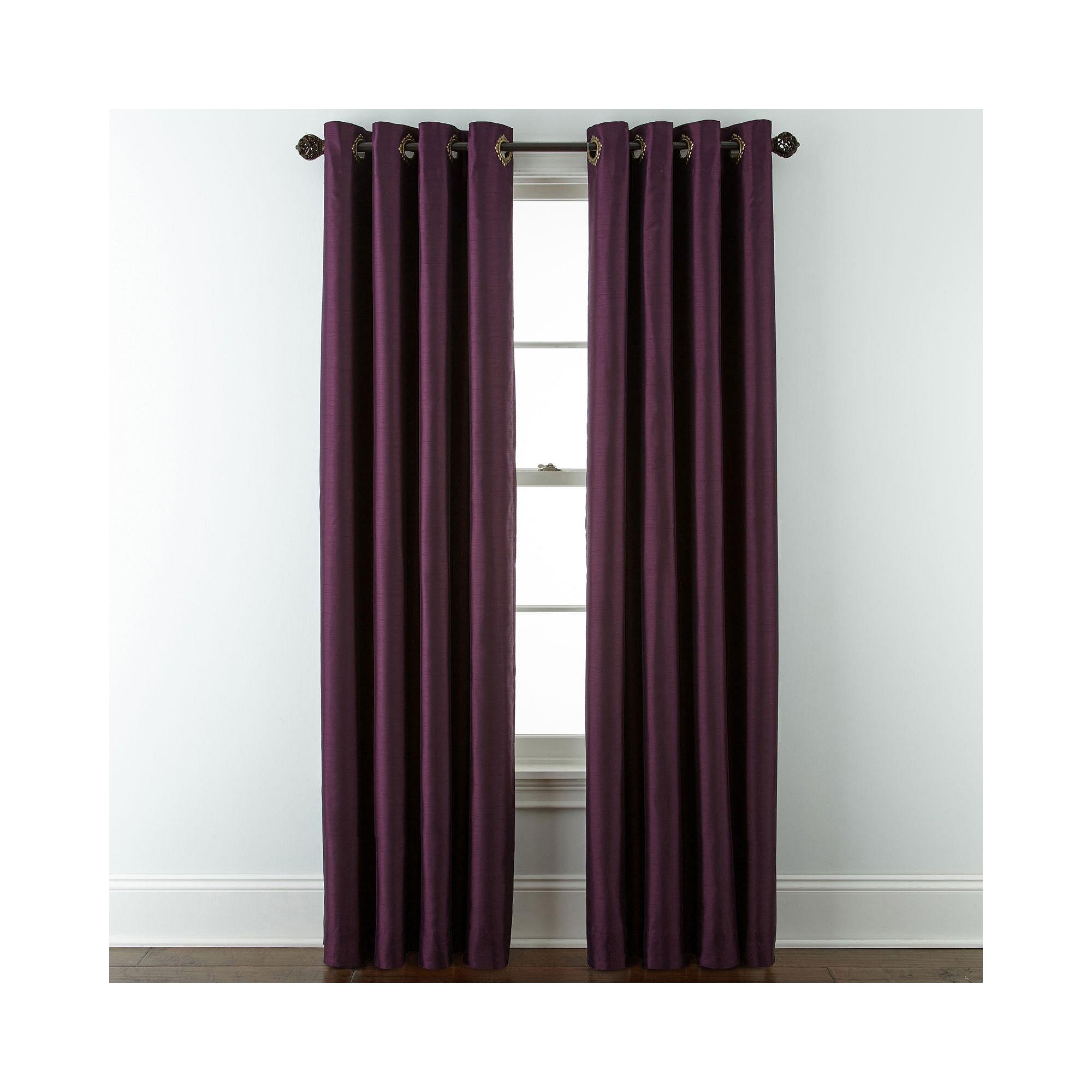 Upc 073107880059 Royal Velvet Plaza Grommet Top Lined Blackout Curtain Panel