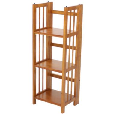 jcpenney.com | Folding 3-Shelf Stackable Bookcase