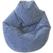Corduroy Tear Drop Beanbag Chairs