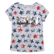 Arizona Short-Sleeve Graphic Tee - Girls 7-16