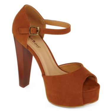 jcpenney.com | Bamboo Intuition Platform Peep-Toe Pumps