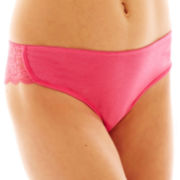 Flirtitude® Lace-Trim Dolphin Boykini Panties