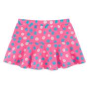 Okie Dokie® Knit Skort- Baby Girls  Newborn-24M