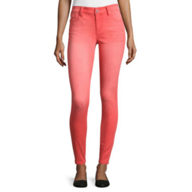jcpenney.com | C-Pink Mid-Rise Skinny Pants - Juniors