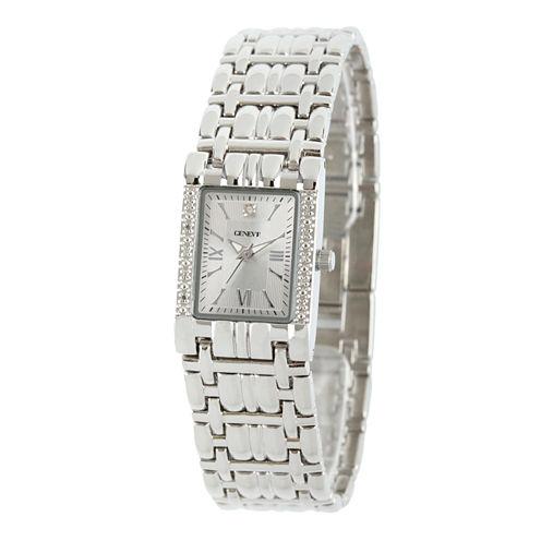 Womens Silver Tone Bracelet Watch-508893