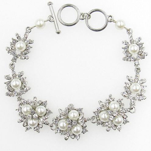 Vieste Rosa Womens 18 Inch Brass Link Bracelet