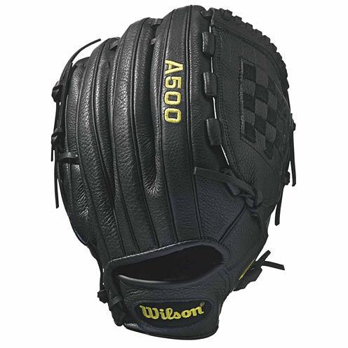 Wilson A500 12in Left Hand Baseball Glove