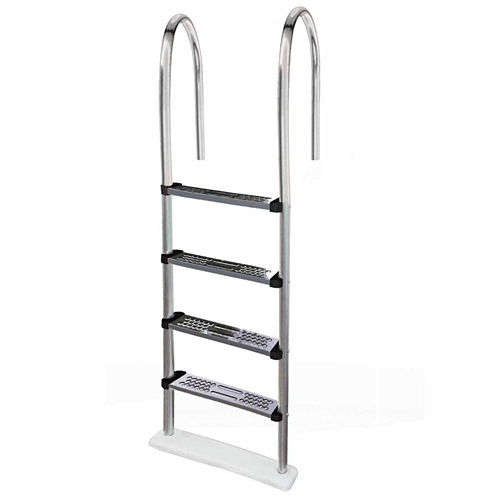 Blue Wave Premium Stainless Steel In-Pool Ladder for Above Ground Pools
