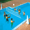 Swimline Pool Jam Volleyball/Basketball Combo In Ground Pool Toy
