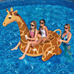Swimline Giant Giraffe 96-in Inflatable Ride-On Pool Toy