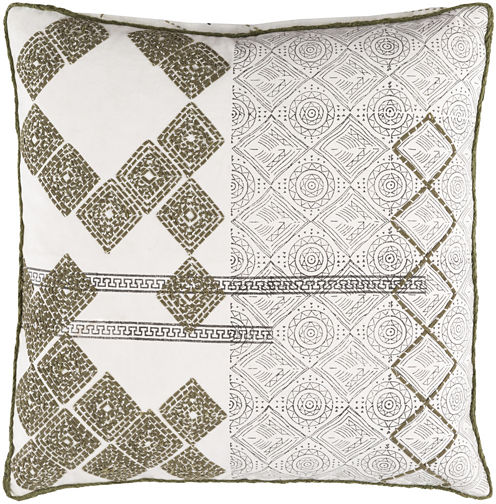Decor 140 Landau Square Polyester Throw Pillow