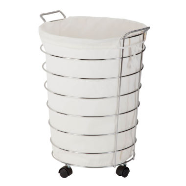 jcpenney.com | Honey-Can-Do® Chrome Rolling Hamper