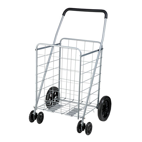 Honey-Can-Do® Folding Rolling Utility Cart