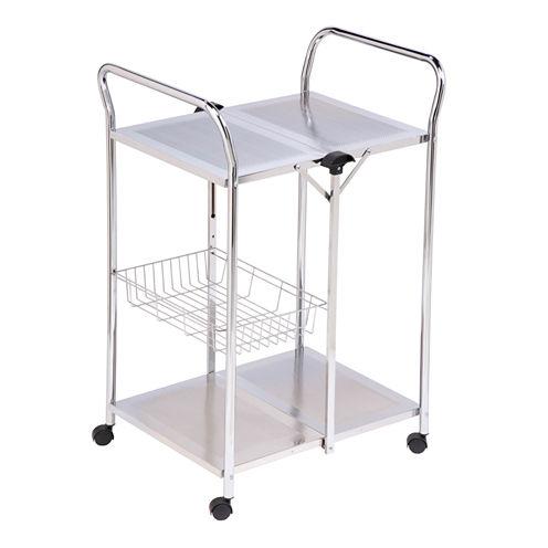 Honey-Can-Do® Deluxe Folding Utility Cart