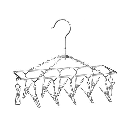 Honey-Can-Do® Chrome Hanging Drying Rack