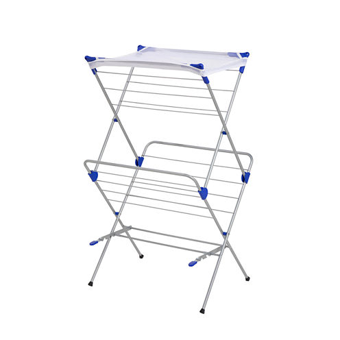 Honey-Can-Do® 2-Tier Mesh Top Drying Rack