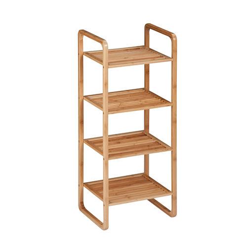 Honey-Can-Do® 4-Tier Bamboo Accessory Shelf
