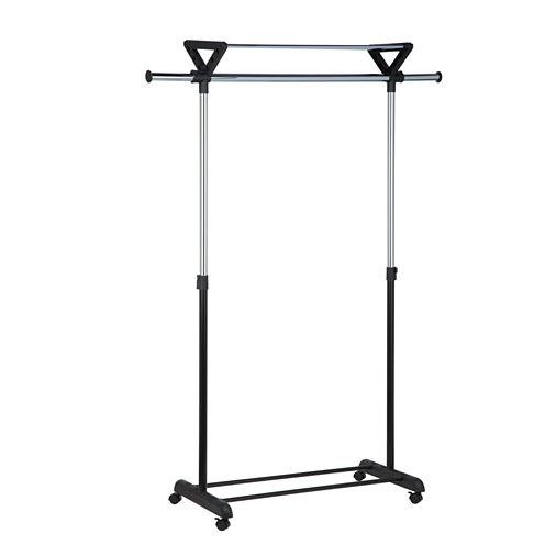 Honey-Can-Do® Top-Shelf Garment Rack