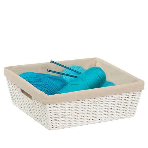 Honey-Can-Do® Paper Rope Basket + Liner