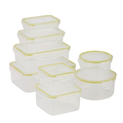 Honey-Can-Do® Snap-Tab 8-pc. Food Storage Set