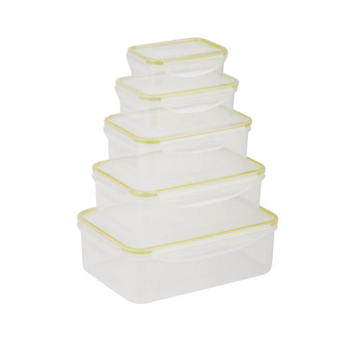 Honey-Can-Do® Snap-Tab 5-pc. Food Storage Set