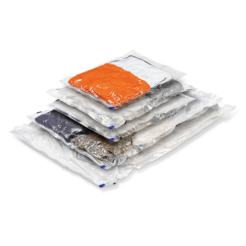 Honey-Can-Do® 5-Pack Vacuum-Sealed Clothing Storage Bags