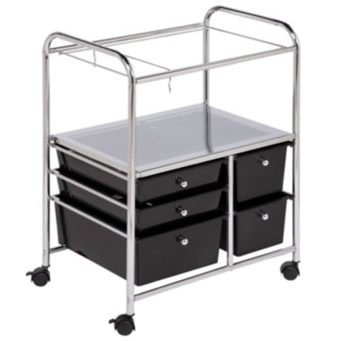 jcpenney.com | Honey-Can-Do® 5-Drawer Hanging File Cart