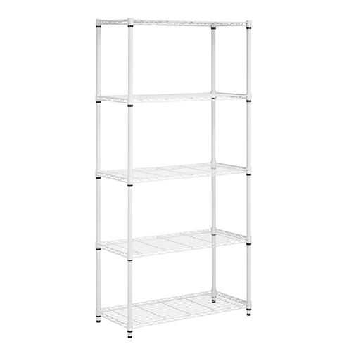 Honey-Can-Do® 5-Tier Storage Shelf