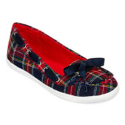 Arizona Betsy Girls Plaid Boat Shoes - Little Kids/Big Kids