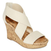 a.n.a® Sammy Strappy Wedges