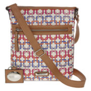 Rosetti® Tote-It-All Mid-Crossbody Bag