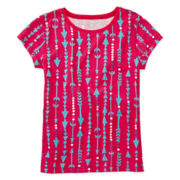 Arizona Print Favorite Tee - Girls 7-16 and Plus