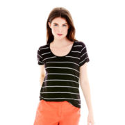 Joe Fresh™ Short-Sleeve Striped Top