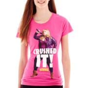Short-Sleeve Pitch Perfect Graphic T-Shirt