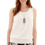 Alyx® T-Back Tank Top with Necklace