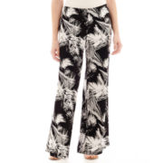Alyx® Pull-On Palazzo Print Pants