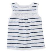 Arizona Lace-Inset Tunic - Baby Girls 3m-24m