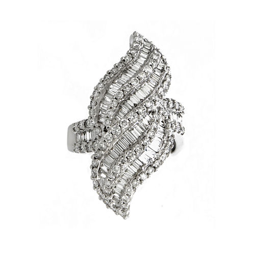 LIMITED QUANTITIES 2 1/4 CT. T.W. Diamond 14K White Gold Ring