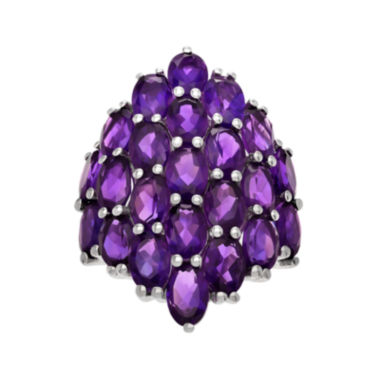jcpenney.com | Genuine Purple Amethyst Sterling Silver Ring