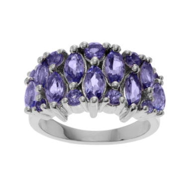 jcpenney.com | Genuine Tanzanite Sterling Silver Band Ring