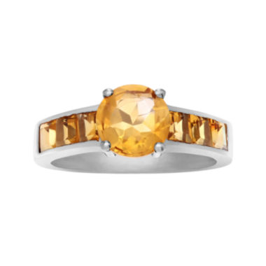 jcpenney.com | Genuine Citrine Sterling Silver Ring