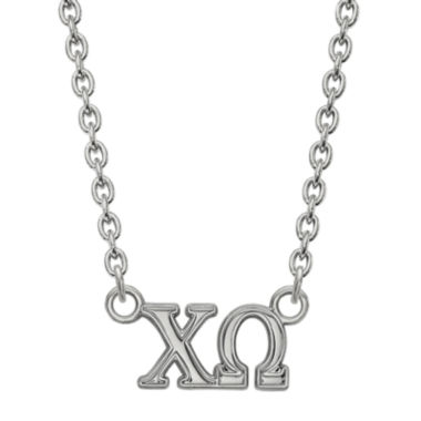 jcpenney.com | Personalized Sterling Silver Medium Sorority Necklace