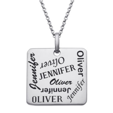 jcpenney.com | Personalized Scattered Names Pendant Necklace