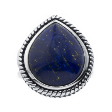 jcpenney.com | Dyed Blue Lapis Sterling Silver Teardrop Ring