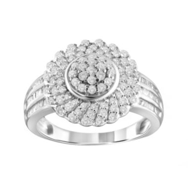 jcpenney.com | 1 CT. T.W. Diamond Sterling Silver Ring
